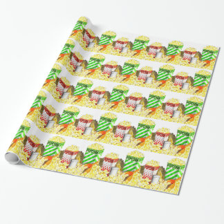 Popcorn Lovers Wrapping Paper