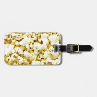 Popcorn Madness Tag For Luggage
