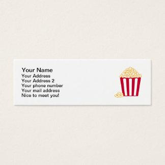 Popcorn Mini Business Card