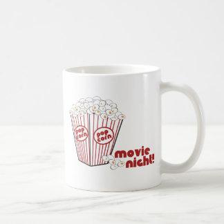 Popcorn Movie Night Mugs