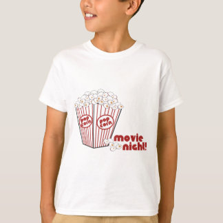 Popcorn Movie Night T-Shirt