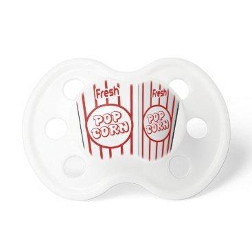 Coffee Themed Popcorn Pacifier