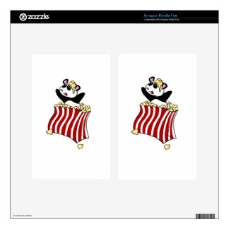Popcorn Panda! Kindle Fire Skin
