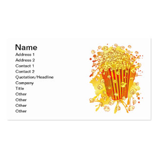 POPCORN_PARTY BUSINESS CARD