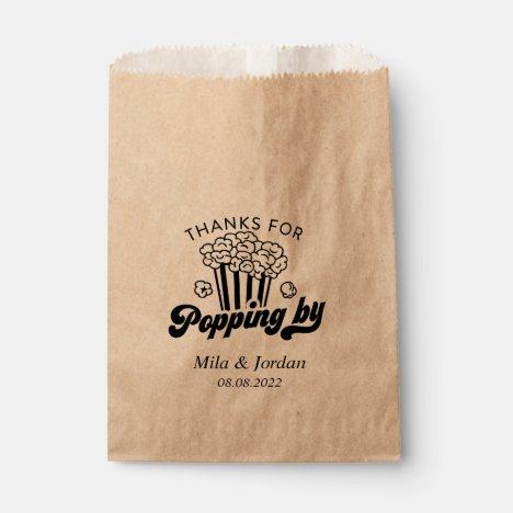 Popcorn Party Favor Gift Bag