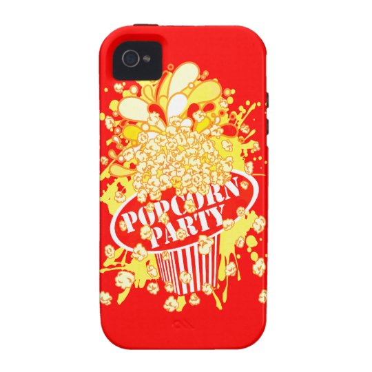 POPCORN_PARTY iPhone 4/4S CASE