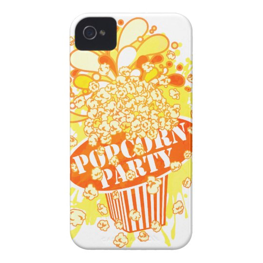 POPCORN_PARTY iPhone 4 CASE