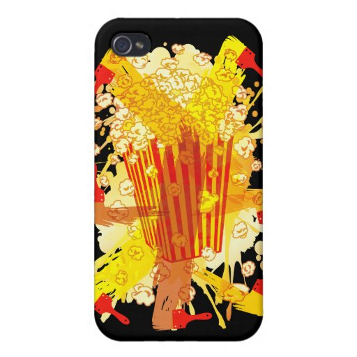 POPCORN_PARTY iPhone 4 PROTECTOR