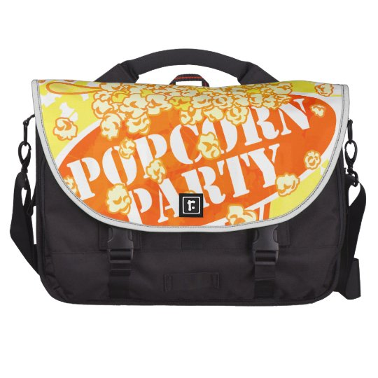 POPCORN_PARTY LAPTOP COMPUTER BAG