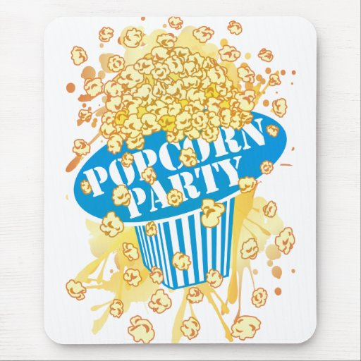 POPCORN_PARTY MOUSE PAD
