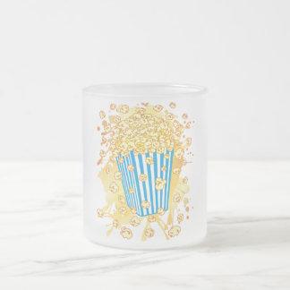 POPCORN_PARTY 10 OZ FROSTED GLASS COFFEE MUG