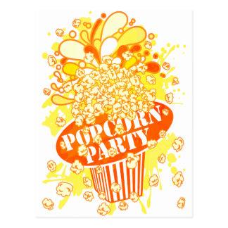 POPCORN_PARTY POSTALES