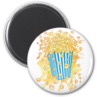 POPCORN_PARTY REFRIGERATOR MAGNET