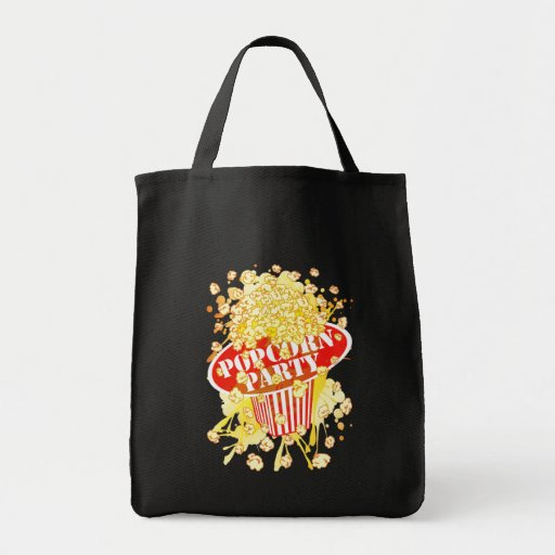 POPCORN_PARTY TOTE BAGS