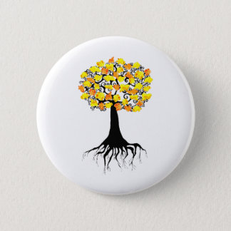 Popcorn Popping on the Apricot Tree Button