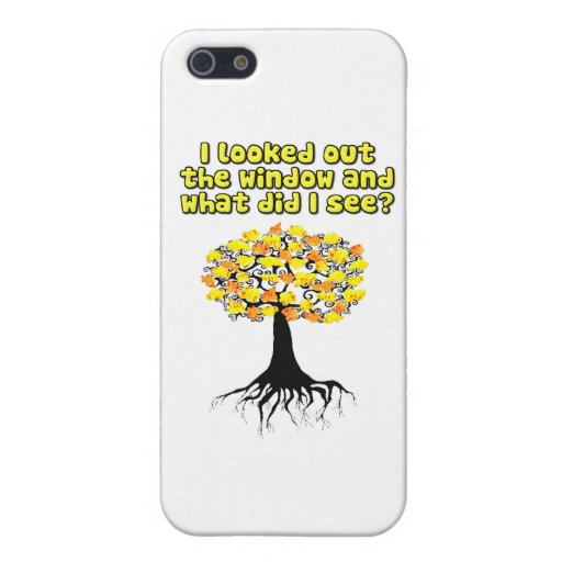 Popcorn Popping On The Apricot Tree iPhone 5 Case