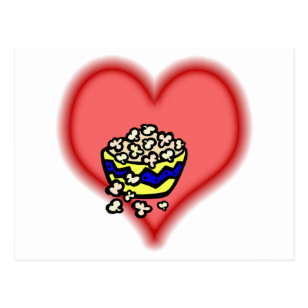 popcorn post card