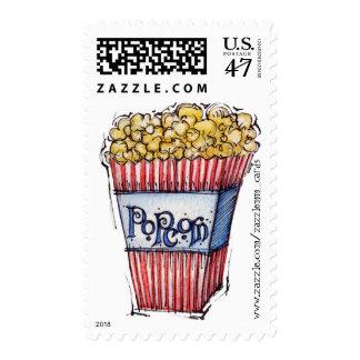 Popcorn - Postage Stamp