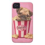 Popcorn Pug Case-Mate iPhone 4 Case