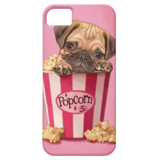 Popcorn Pug iPhone SE/5/5s Case