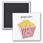 Popcorn Refrigerator Magnet
