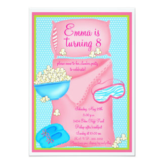 slumber party invitations  announcements  zazzle, Party invitations