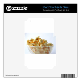 popcorn snack food movie night skin for iPod touch 4G