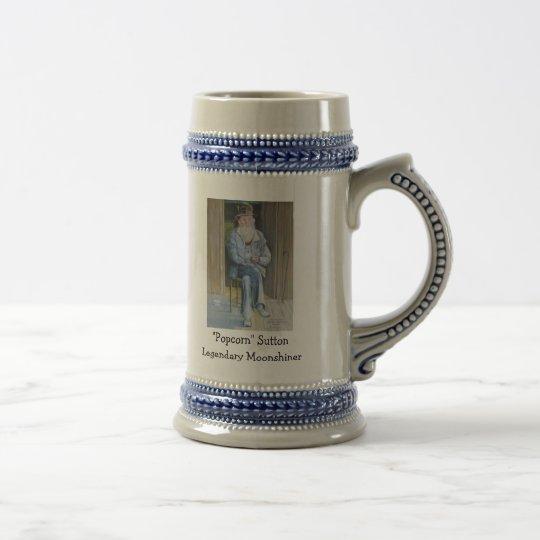 """""""Popcorn"""" Sutton Legendary Moonshiner Beer Stein"""