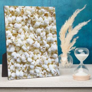 Popcorn Texture Photography Bright Decor Plaque