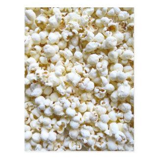 Popcorn Texture Photography Bright Decor Postcard
