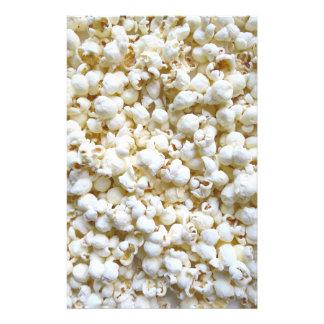 Popcorn Texture Photography Bright Decor Stationery