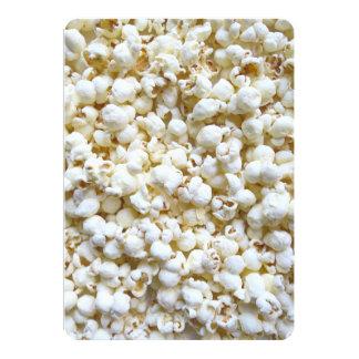 Popcorn Texture Photography Card
