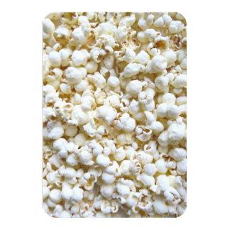 Popcorn Texture Photography Custom Invites