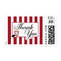 Popcorn Thank You Stamp