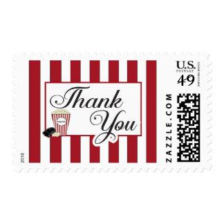 Popcorn Thank You Stamp