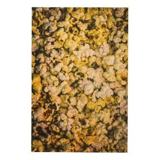 Popcorn Wood Wall Art