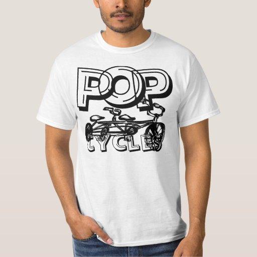 PopCycles logo #10 Tee Shirt