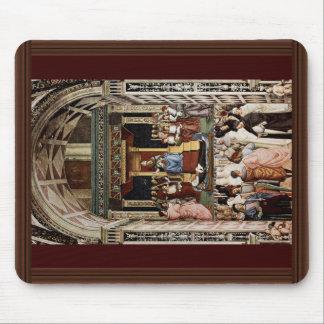 Pope Aeneas Piccolomini Canonize Catherine Mouse Pad