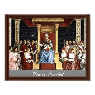 Pope Aeneas Piccolomini Canonize Catherineien Invites