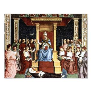 Pope Aeneas Piccolomini Canonize Catherineien Announcements
