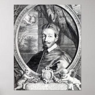 Pope Alexander VII Poster