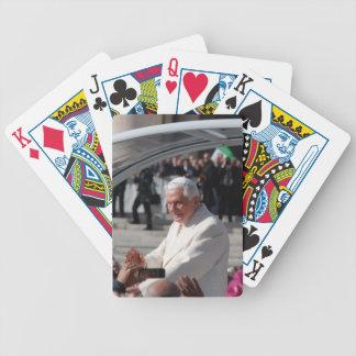 Pope Benedict Bicycle Card Decks