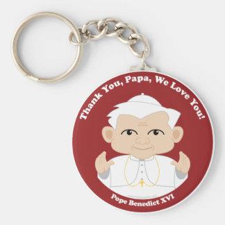 Pope Benedict XVI Keychain