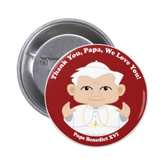 Pope Benedict XVI Pinback Button