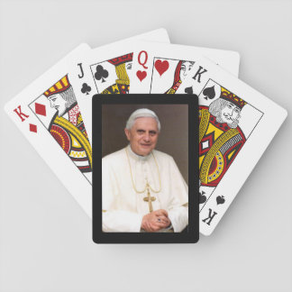 Pope Benedict XVI playing cards