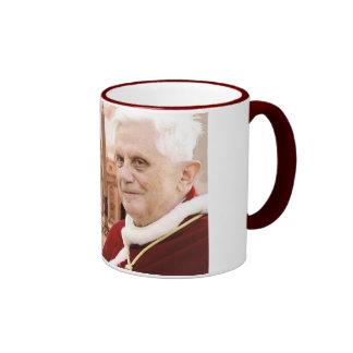 Pope Benedict XVI Ringer Mug