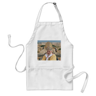 Pope Benedict XVI with the Vatican City Adult Apron