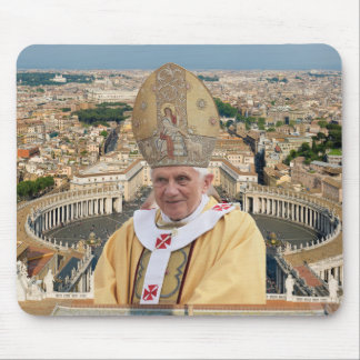 Pope Benedict XVI with the Vatican City Mouse Pad