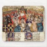 Pope Boniface VIII  presiding over a Mouse Pad