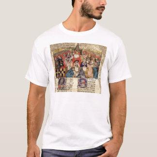 Pope Boniface VIII  presiding over a T-Shirt